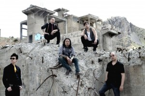 """""""The Slants"""" filming the video for """"How the Wicked Live"""""""